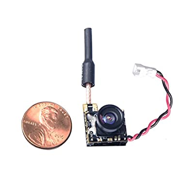 Wolfwhoop WT05 Micro AIO 600TVL Camera Only 3.4g 5.8GHz 48CH 25mW FPV Transmitter with Dipole Brass Antenna Combo for FPV Quadcopter Drone