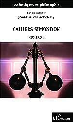Cahiers Simondon: Numéro 5
