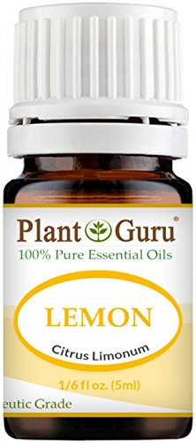 Lemon Essential Oil 5 ml. 100% Pure Undiluted Therapeutic Gr