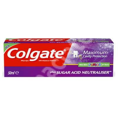 Toothpaste Maximum Cavity Protection for children Junior, six years, 50 ml Colgate ()