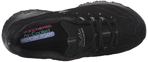 D'Lites Sneaker Start Skechers Donna Fresh Nero 106xUvq