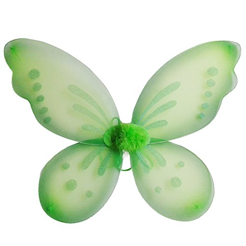 EFINNY Fairy Butterfly Wings Party Favor for Girls Toddlers and Kids 4850CM - Fairy Wings Enchanted