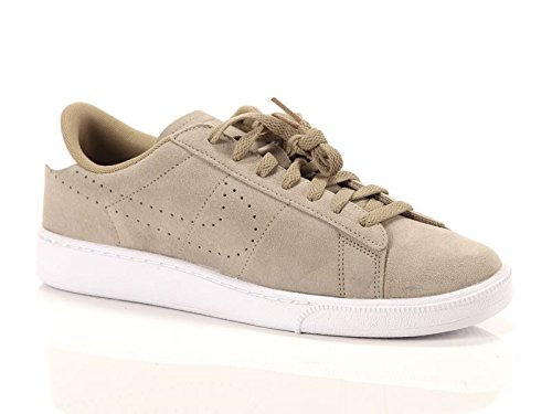 Nike Khaki Classic Ankle Khaki Suede Tennis Fashion white Men's High Sneaker 8pxqr8E