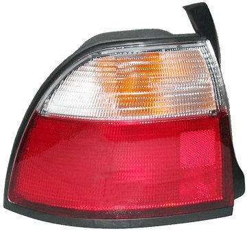 OE Replacement Honda Accord Driver Side Taillight Assembly (Partslink Number HO2800119) (97 Tail Light Lamp Wagon)