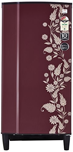 Godrej 196 L 3 Star ( 2019 ) Direct Cool Single Door Refrigerator(RD 1963 PT 3.2 DRM SCR, Scarlet Dremin)