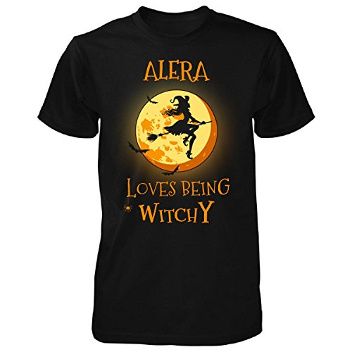 alera-loves-being-witchy-halloween-gift-unisex-tshirt