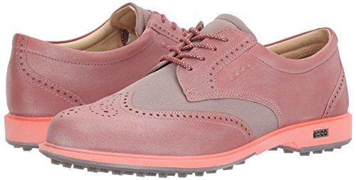 Woman Golf Shoes. ECCO Women's Classic Hybrid III Golf Shoe, Petal/Petal Trim, 38 EU/7-7.5 M US #golf