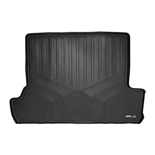 SMARTLINER All Weather Cargo Liner Floor Mat Black for 2010-2018 Toyota 4Runner With 3rd Row Seats ()