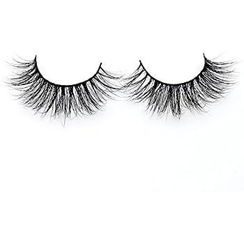 8a5e2eb8d44 Visofree Eyelashes Natural 3D Mink Lashes Handmade Full Strip Lashes/False  Eyelashes