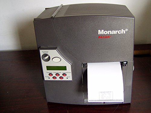 Monarch 9825 Printer/W/ Ethernet, Serial , Parallel, No Bad Dots