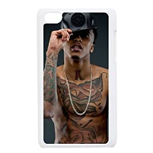 Unique Hard Back Case for iPod touch4 w/ August Alsina image at Hmh-xase (style 13)