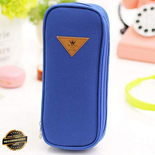 Gatton New Stationery Pen Pencil Cases Cosmetic Storage Bag Travel Makeup Brush Box MT | Style TRVIHR-11292240
