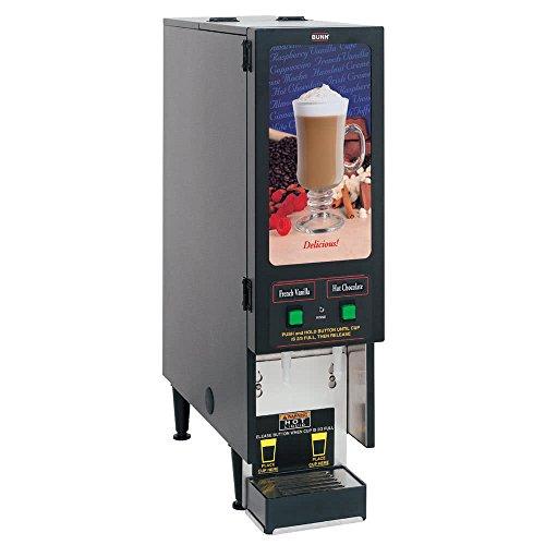 (Bunn SET00.0207 FMD-2 BLK Fresh Mix Dispenser, (2) 4 lb Hoppers, 4.2 Gallon Per Hour)
