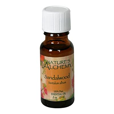 Nature's Alchemy Essentials Oil, Sandalwood (Santalum Album), 0.5 oz (15 ml) from Nature's Alchemy
