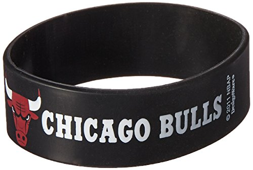 Amscan Chicago Bulls NBA Collection Cuff Band, Party Favor, 36 Ct. by Amscan (Image #1)