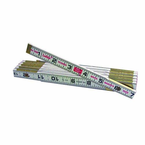 (Lufkin 636 6-Foot Wood Brick Spacing Rule)
