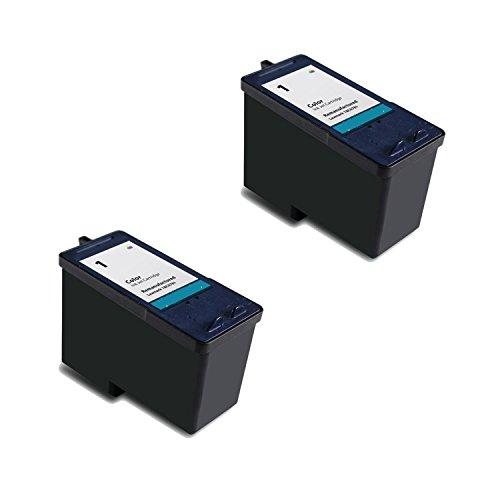 Lexmark 18C0781-Lexmark 1 Premium Remanufactured High Value Color Inkjet Cartridge - 2 Pack (18c0781 Colour)