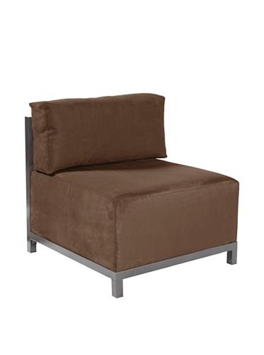 Howard Elliott 920-27 Microsuede Axis Chair Slipcover, Chocolate (Chair Axis)