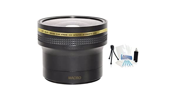 55mm 0.17x Super Wide HD Fisheye Lens UltraPro BONUS Included: Mini Tripod Sony Lenses LCD Camera Screen Protector A330 35mm, 28mm For The Sony DSLR-A380 A230 Digital SLR Cameras Which Have Any Of These Cleaning Kit