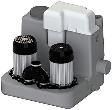 SFA Sanicom 2 Hebeanlage mit Doppelpumpe - Schmutzwasserhebeanlage Test