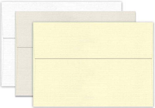 Classic LINEN Antique Gray (70T/Linen) - A6 Envelopes (4.75-x-6.5) - 1000 PK