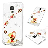 Best Galaxy Note 4 Waterproof Cases - Galaxy Note 4 Christmas Case, MOLLYCOOCLE 3D Handmade Review