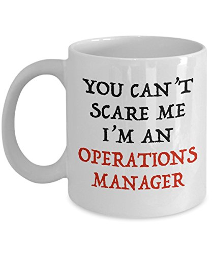 Halloween Gifts for Operations Manager - I'm Not Scared I'm an Operations Manager Mug for Men, Women, Him, and Her - 11 oz Scary Halloween Coffee Mug