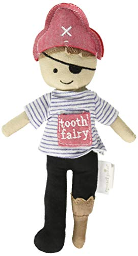 (Mud Pie Men's Pirate Tooth Fairy Doll Multi One Size )
