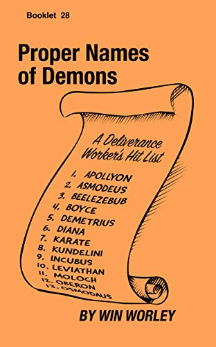 Proper Names of Demons (Booklet Book 28)