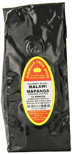 Marshalls Creek Spices Gourmet Ground Coffee, Malawi Mapanga. , 12 Ounce
