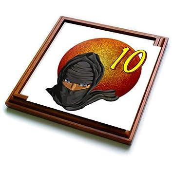 Amazon.com: 3dRose MacDonald Creative Studios - Ninja ...