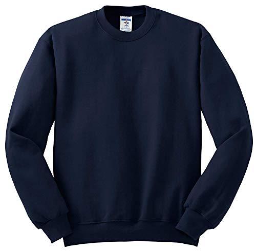 Jerzees 562 Adult NuBlend Crew Neck Sweatshirt - Jnavy, XX-Large
