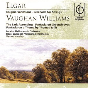 Elgar Enigma Variations, Vaughan Williams The Lark Ascending (2001-09-03)