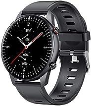 xuelili I15 Smartwatch,Relógio inteligente Fitness com Prova D'água, design fino superleve, autonomia da b