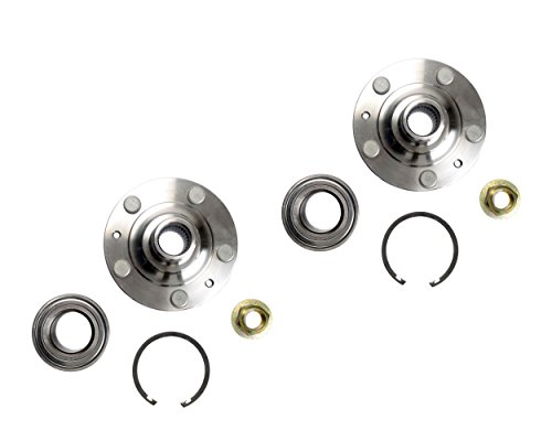 Wheel Bearings Repair - Fusion Milan MKZ Two Front Wheel Hub Wheel Bearing Repair Kits NT930177K x2 Left and Right Includes Nut Clip. Replaces BR930177K, HA590533 930-015 510010