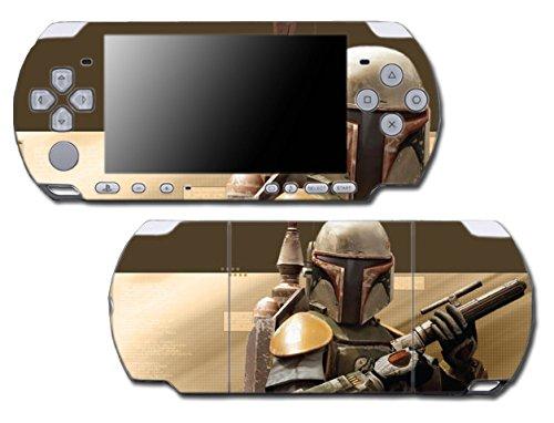 Star Wars Boba Jango Fett Bounty Hunter Comic Video Game Vinyl Decal Skin Sticker Cover for Sony PSP Playstation Portable Slim 3000 Series System (Jango Boba Fett)