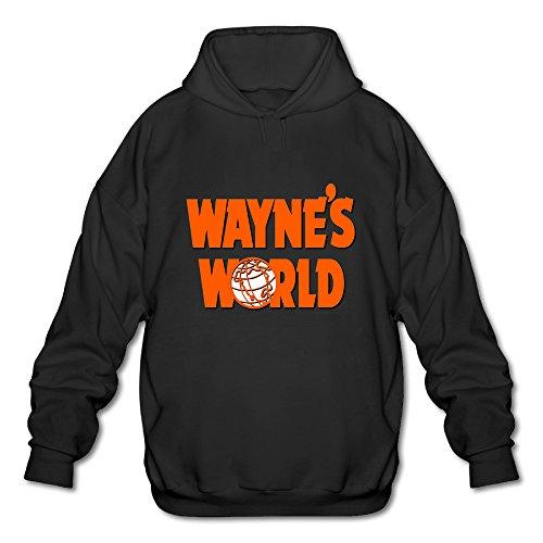 BOOMY Wayne's World Man's Hoodie Sweatshirt SIZE M - Wayne And Garth World Costumes