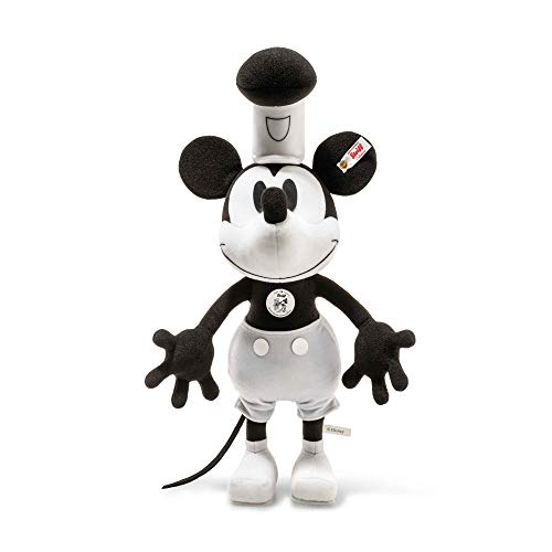 Steiff Steamboat Willie Mickey Mouse 90th Birthday Limited Edition EAN 354458