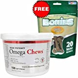Product review for HealthyPets 150 Count Omega Soft Chews for Small to Medium Dogs and Cats