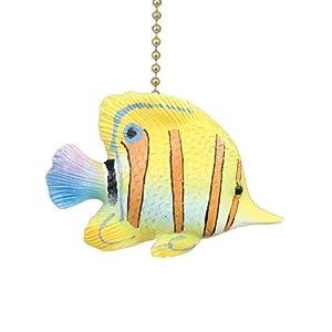 41Zuuv4%2B6eL._SS300_ 75+ Coastal & Beach Ceiling Fan Pull Chain Ornaments For 2020