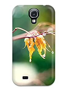 Best TashaEliseSawyer Scratch-free Phone Case For Galaxy S4- Retail Packaging - Leaf 5507746K81654314