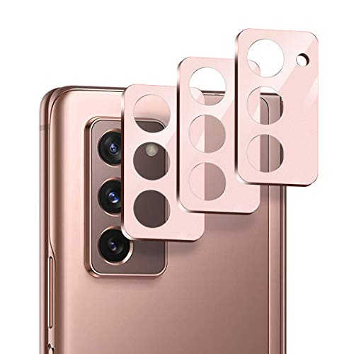 Suoman 3-Pack for Samsung Galaxy Z Fold 2 5G Camera Lens Protector, [Aluminum Alloy] [Not Affect Flash] Camera Lens Protector for Galaxy Z Fold 2 5G - Mystic Bronze