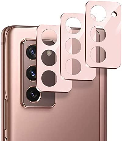 Suoman 3-Pack for Samsung Galaxy Z Fold 2 5G Camera Lens Protector, [Aluminum Alloy] [Not Affect Flash] Camera Lens Protector for Galaxy Z Fold 2 5G – Mystic Bronze