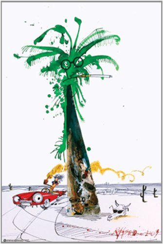 NMR 99385 Steadman Palm Decorative Poster (Fear And Loathing In Las Vegas Pics)