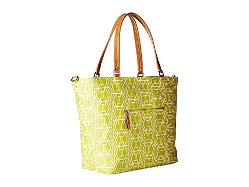 Petunia Pickle Bottom Altogether Tote Diaper Bag in Electric Citrus, Yellow