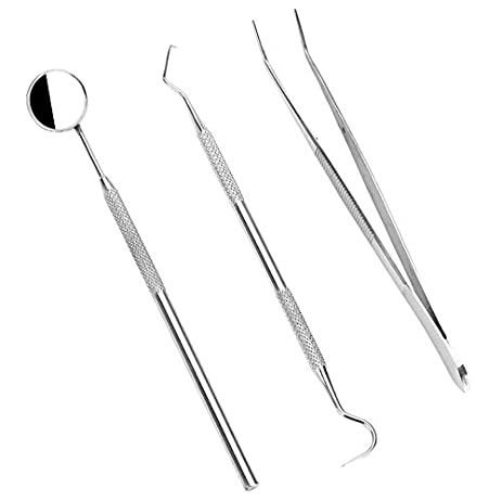 dentists tools kit 3 in 1 oral care dental hygiene tools kits