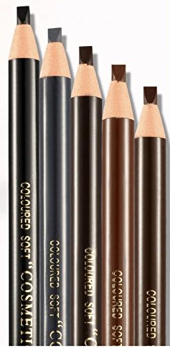 Waterproof Eyebrow Pencils - 12 Piece By Stylia Beauty: Peel-Off Brow Pencil Set For Marking, Filling And Outlining, Tattoo Makeup And Microblading Supplies Kit-Permanent Eye Brow Liners In 5 - Shape Face Have What You Do