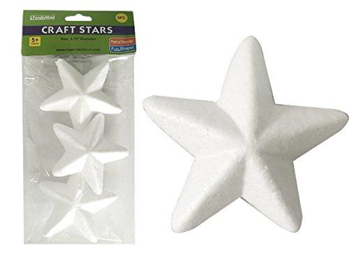 CRAFT STAR FOAM BALLS 3PC 3.75 , Case of 96