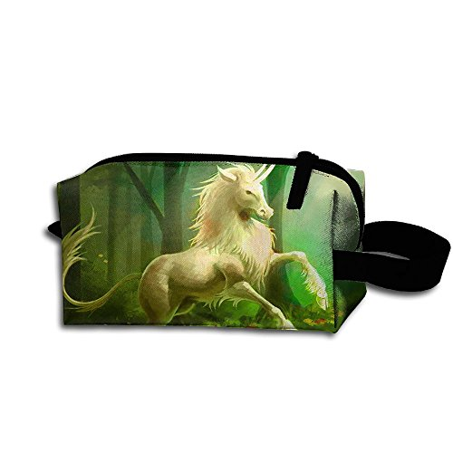Unicorn Bring Spring Unisex Fashion Hanging Storage Bag Toiletry Bag Makeup Cosmetic Pouch Pencil Case For Business (German Shorthaired Pointer Umbrella)