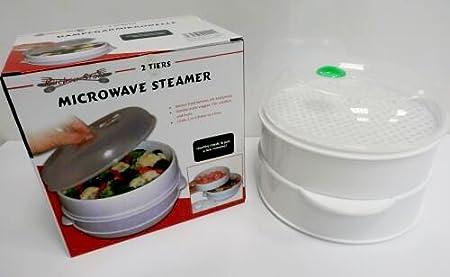 Para cocinar al vapor microondas Mikrowellenset, 3 teiliges ...